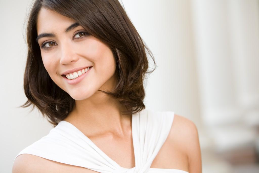 woman with good set of teeth