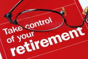 Take control of your retirement ad