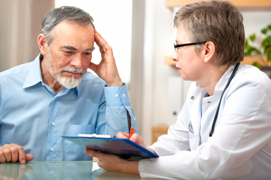 consulting doctor about dementia