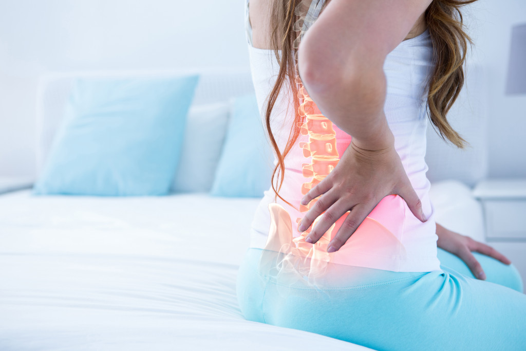 back pain of a person